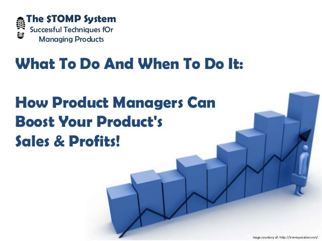 The $TOMP System Successful Techniques fOr Managing Products What To Do And When To Do It: How Product Managers Can Boost ...