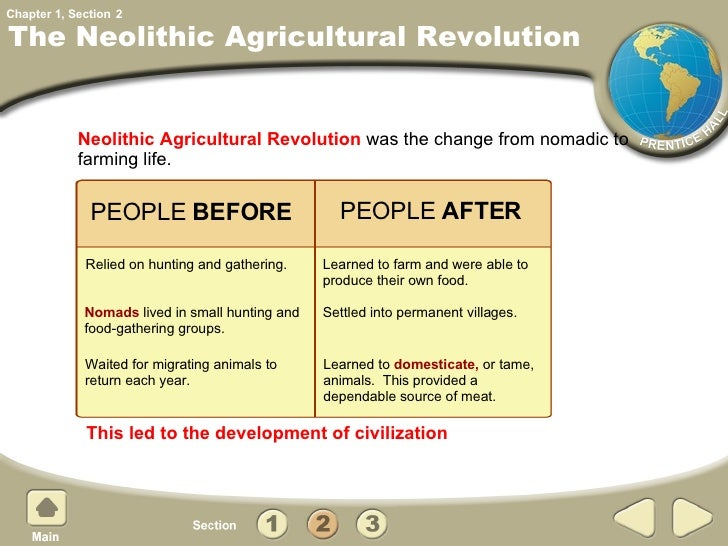 after the neolithic revolution From foraging to farming: explaining the neolithic revolution  yet, the question still remains: why take up farming after millions of years of successful foraging.