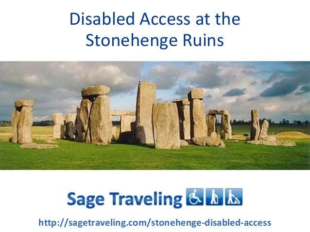 Disabled Access At The Stonehenge Ruins