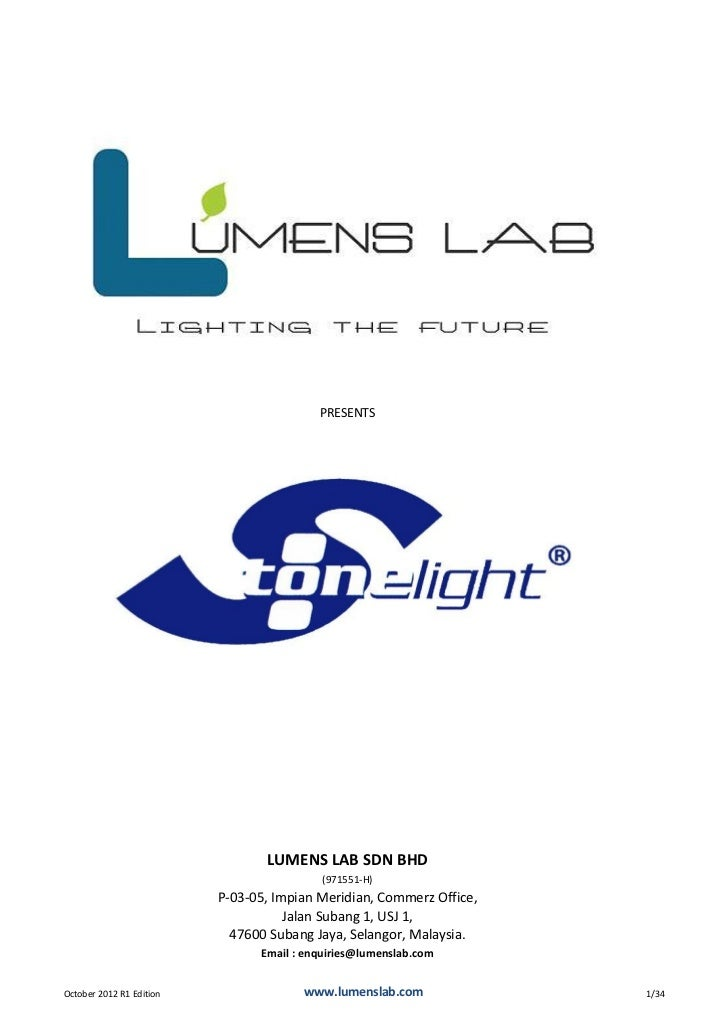 Stonelight Catalogue 2012