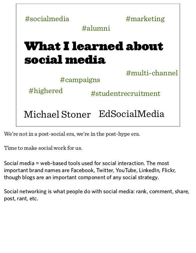 How Higher Ed Uses Social Media to Raise Money, Build Awareness, Recruit Students, and Get Results