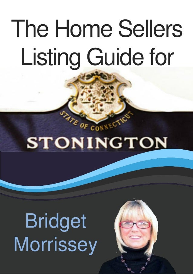 Stonington Home Sellers Listing Guide