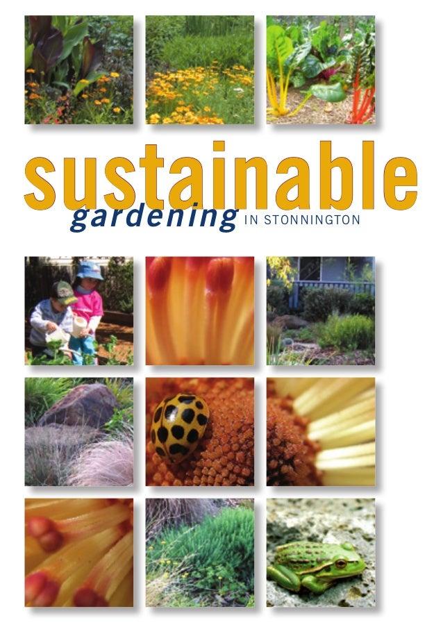 sustainable gard en in g   IN STONNINGTON