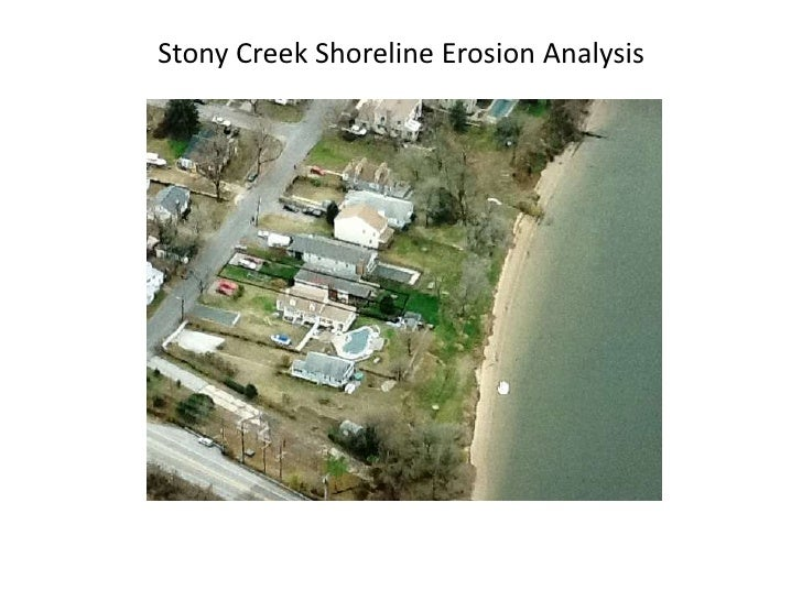 Stony Creek Shoreline Erosion Analysis