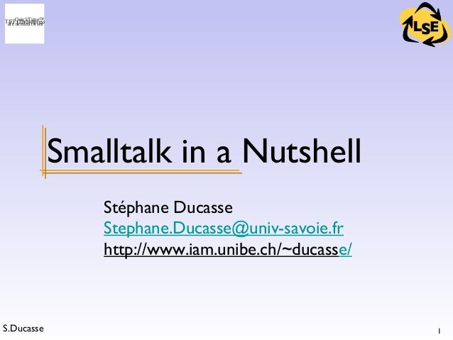 5 - OOP - Smalltalk in a Nutshell (a)