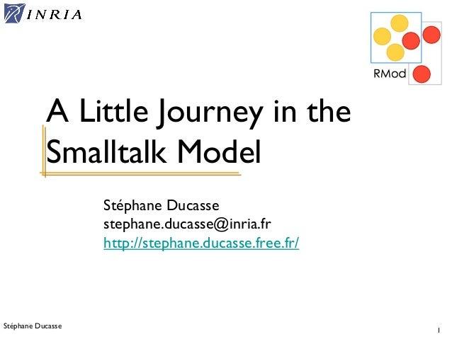 8 - OOP - Smalltalk Model