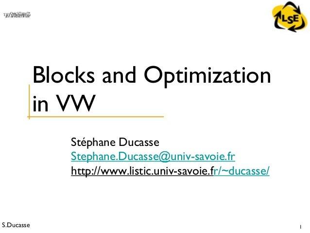 Stoop 300-block optimizationinvw