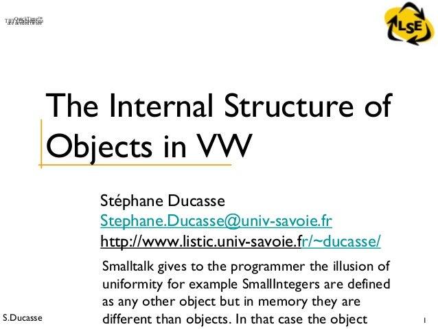 Stoop 301-internal objectstructureinvw
