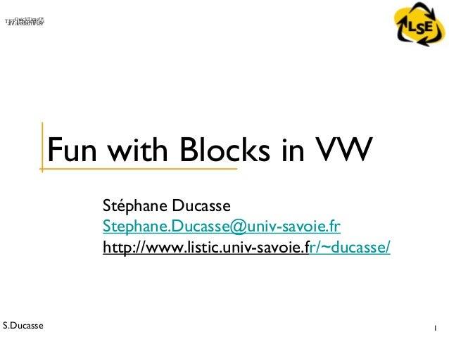 Stoop 303-advanced blocks