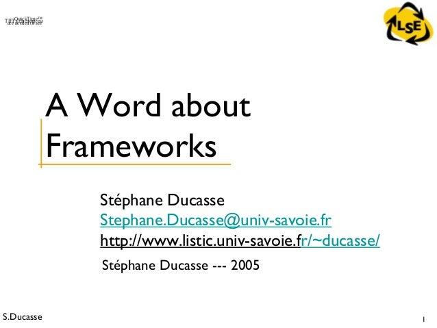 Stoop ed-frameworks