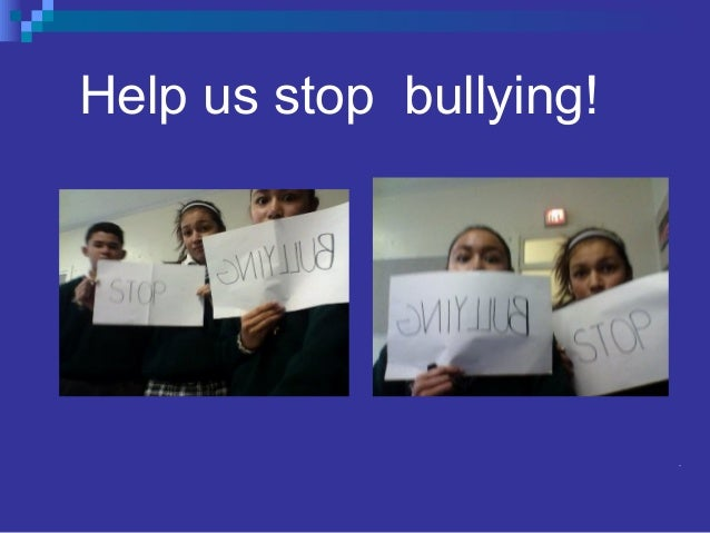 help stop bullying essay