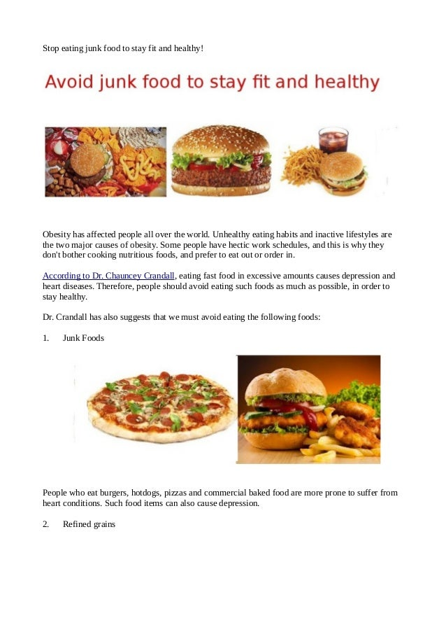 cause and effects of healthy eating