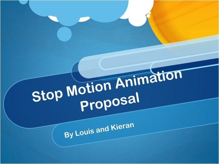 Stop motion animation presentation 1