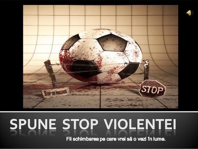 Stop violentei, gheorghe andrei, ix f