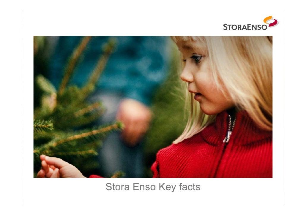 Stora Enso Key facts