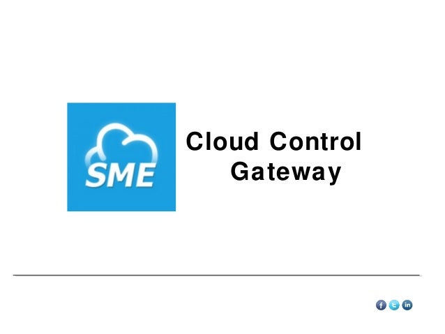 Storage Made Easy Cloud Control Gateway Overview