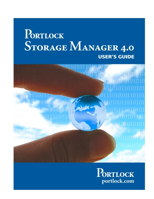 Portlock Storage Manager 4.0 for NetWare User's Guide