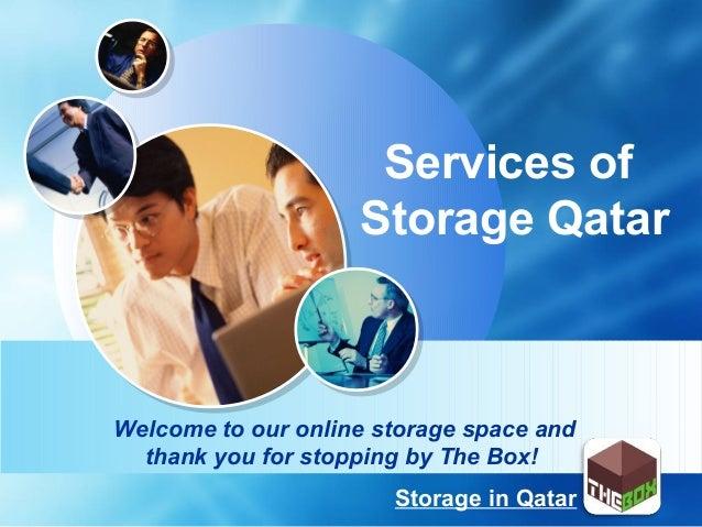 Storage Qatar PPT