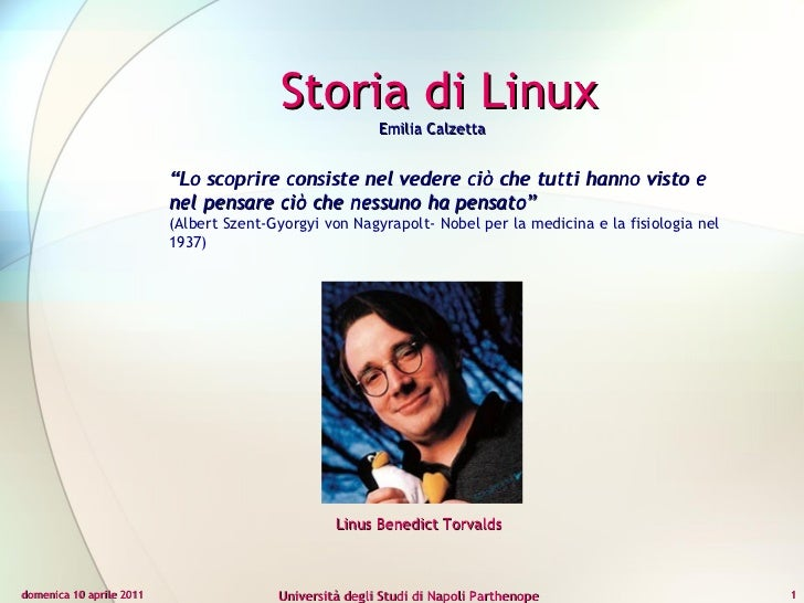 """domenica 10 aprile 2011 Università degli Studi di Napoli Parthenope """" Lo scoprire consiste nel vedere ciò che tutti hanno ..."""