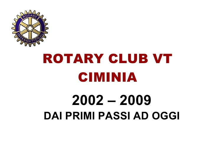 Rotary Club Viterbo Ciminia