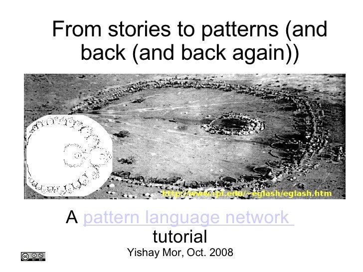 Stories2patterns