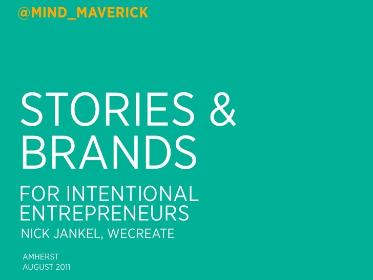 Enterprise Storytelling
