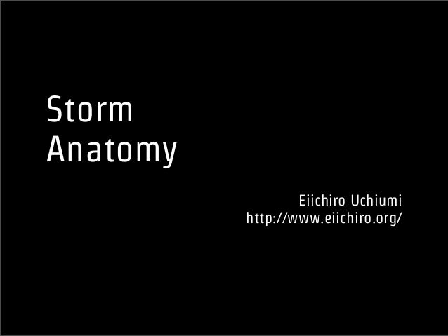Storm Anatomy