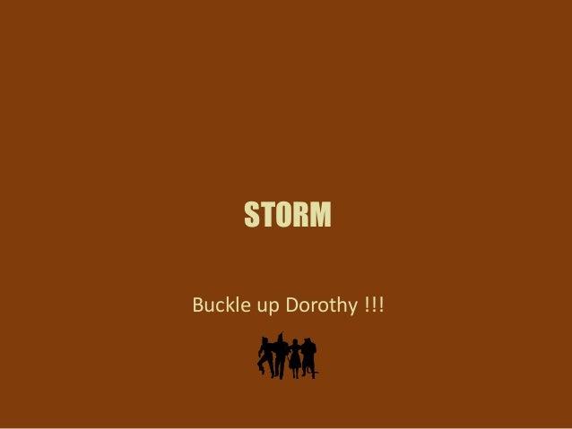 Storm overview & integration