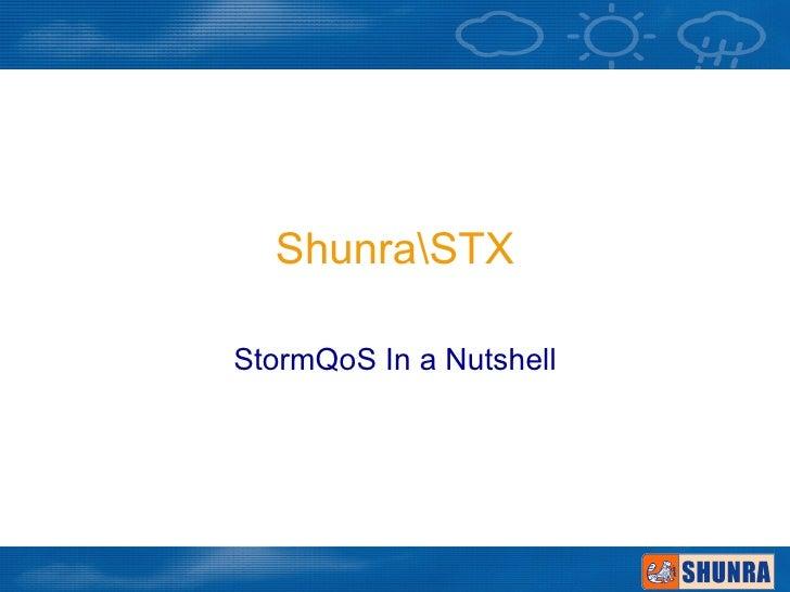 Storm qos