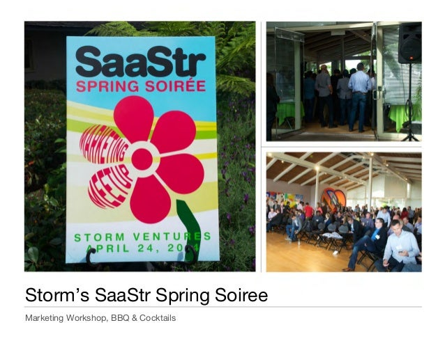 SaaStr Summer Social '14:  How to Hire a Great VP of Marketing @ Storm Ventures