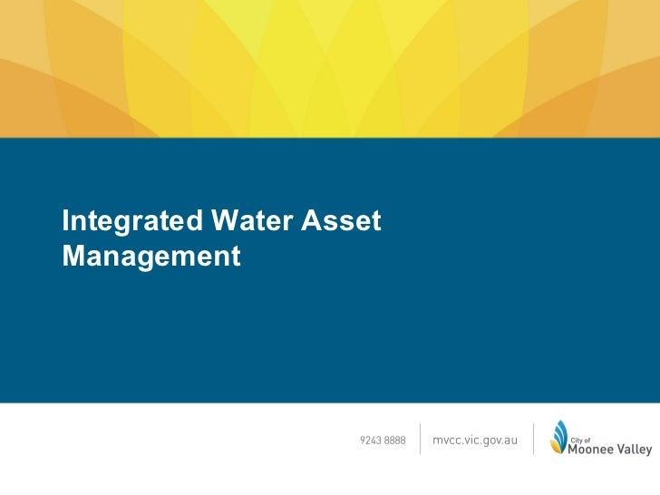 Integrated Water AssetManagement
