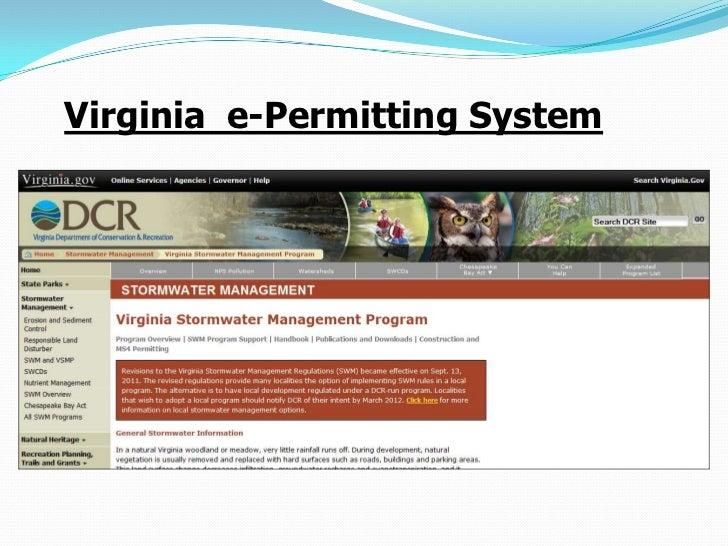 Virginia e-Permitting System
