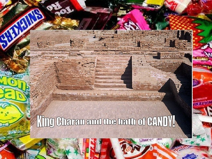 King Charan and the bath of CANDY!