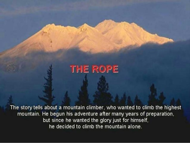 Story   the rope