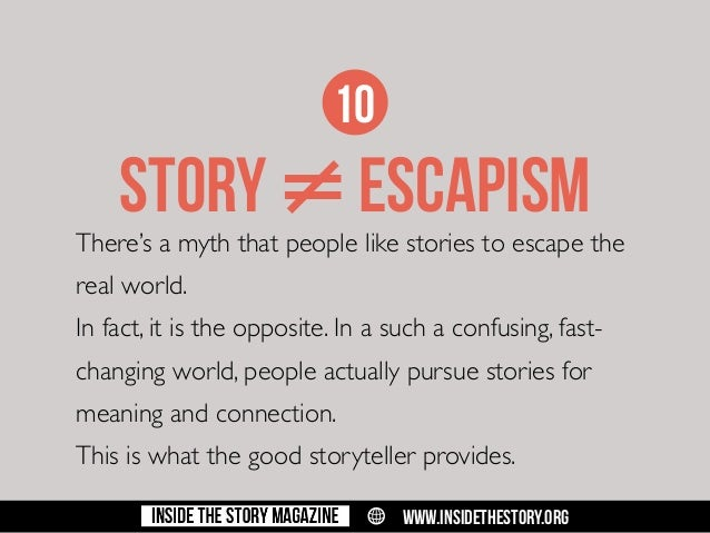 Why are myths/storytelling important to people?