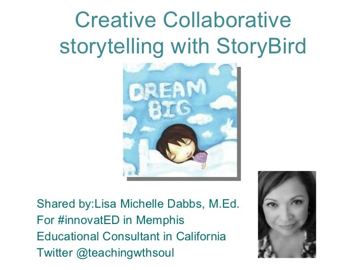 Creating Collaborative storytelling with Storybird