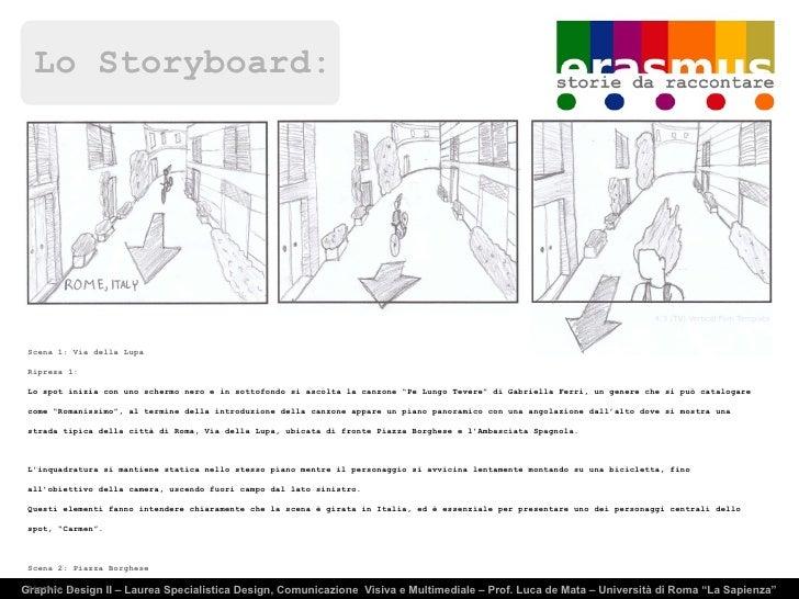 Lo Storyboard: Graphic Design II – Laurea Specialistica Design, Comunicazione  Visiva e Multimediale – Prof. Luca de Mata ...