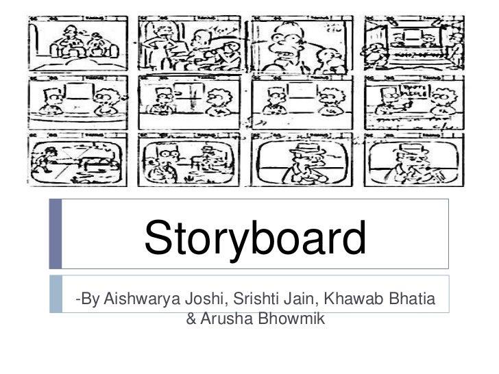 Storyboard for assignment - AIshwarya J and Srishti J