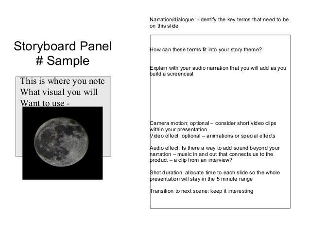 Story Board Template Origins & Change