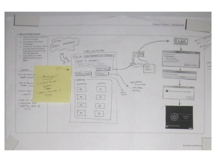 Project Vasari concept storyboard - part 1