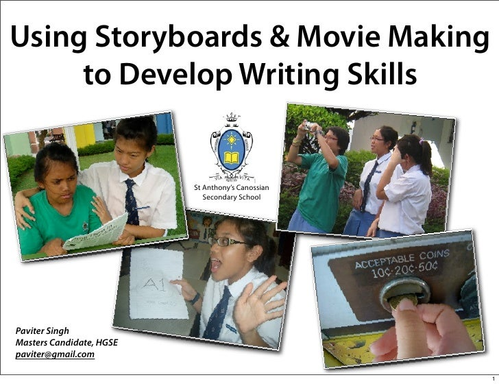 Using Storyboarding and Movie Making to improve reading and writing