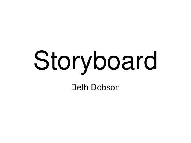 Storyboard   Beth Dobson