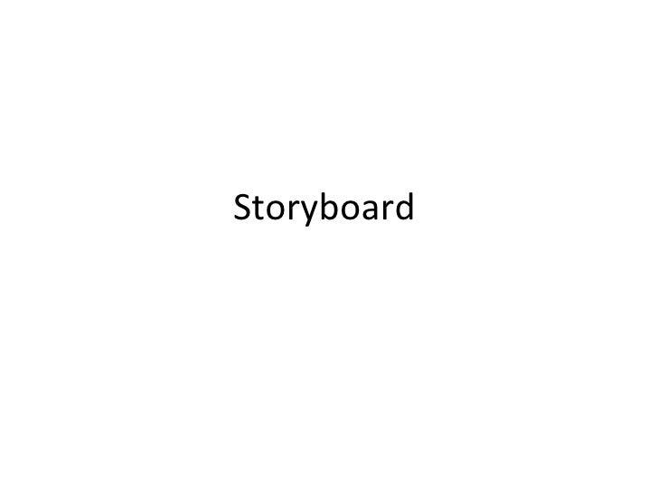 Storyboard(printscreen)