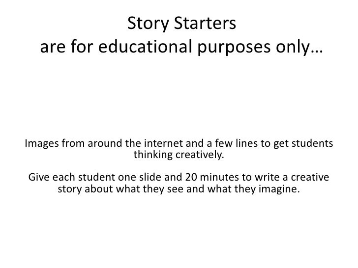 Story Starters: Creative Writing Prompts for Kids | Scholastic