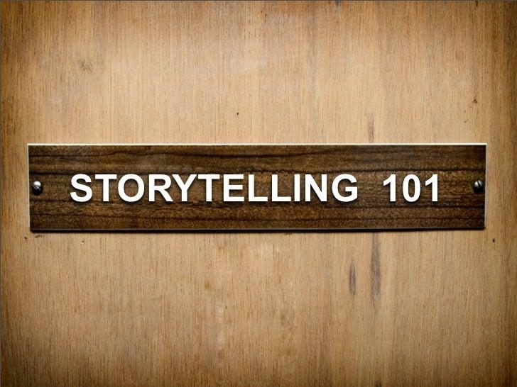 Storytelling 101