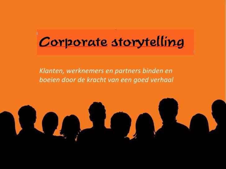 Klanten, werknemers en partners binden en boeien door de kracht van een goed verhaal  Innessence  scenario-storytelling-tr...