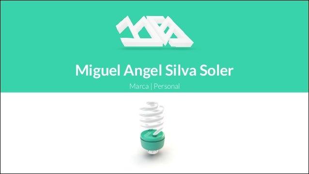 Marca | Personal Miguel Angel Silva Soler