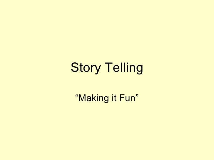 Story telling[1]