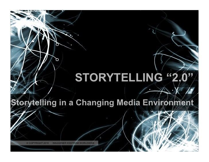 Storytelling 2.0