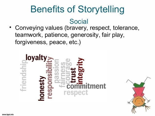 Benefits of storytelling social cont d the value of inner